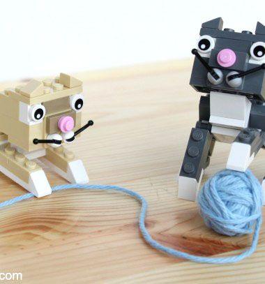 Lego cats (with building instructions) / Lego cica/macska fugurák (építési útmutatóval) / Mindy - craft tutorial collection