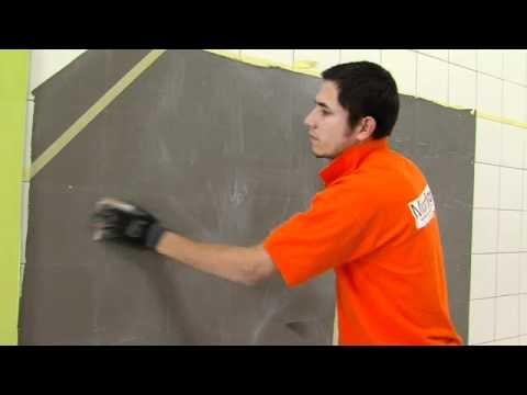 Vídeo aplicación de microcemento