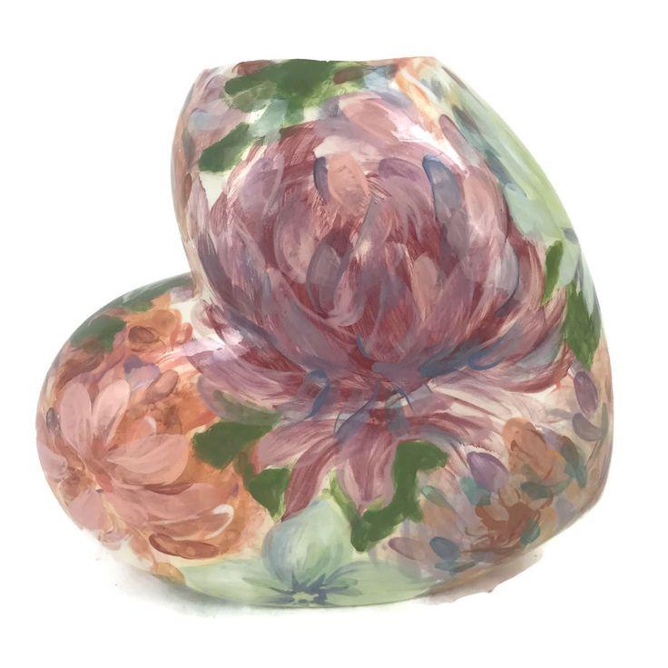 Lesal Ceramics Hand Crafted Heart Vase Lisa Lindberg Van