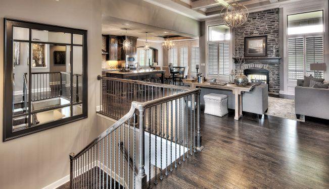 2 New Home Builder Lenexa Ks Jefferson Reverse 1 5 Story House Plans New Home Builders House Design