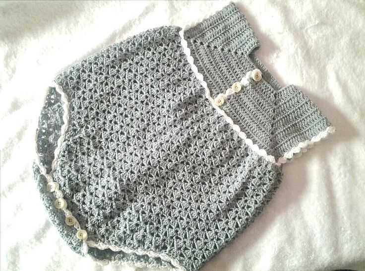 Pelele ,enterizo o jardinero  a crochet parte 1  #tutorial #paso a paso ...