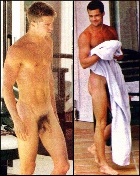 Brad pitt gay naked