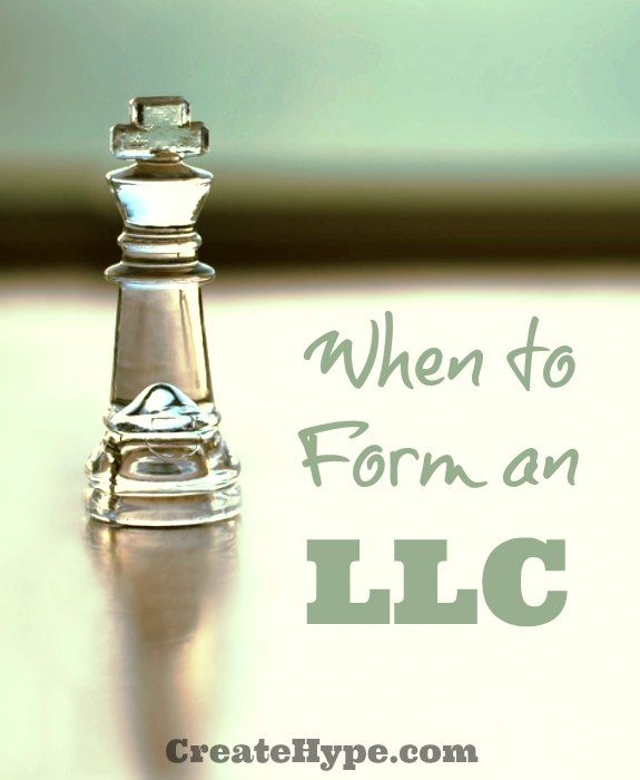 When to Form an LLC: Entrepreneurs often ask me if they should form an LLC when establishing a new business, but there are other options like sole proprietorship and business insurance. #LLC #Business - http://createhype.com/when-to-form-an-llc/