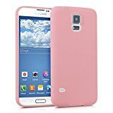 kwmobile Funda de TPU silicona chic para el > Samsung Galaxy S5 / S5 Neo / S5 LTE+ / S5 Duos < en rosa palo mate - http://themunsessiongt.com/kwmobile-funda-de-tpu-silicona-chic-para-el-samsung-galaxy-s5-s5-neo-s5-lte-s5-duos-en-rosa-palo-mate/