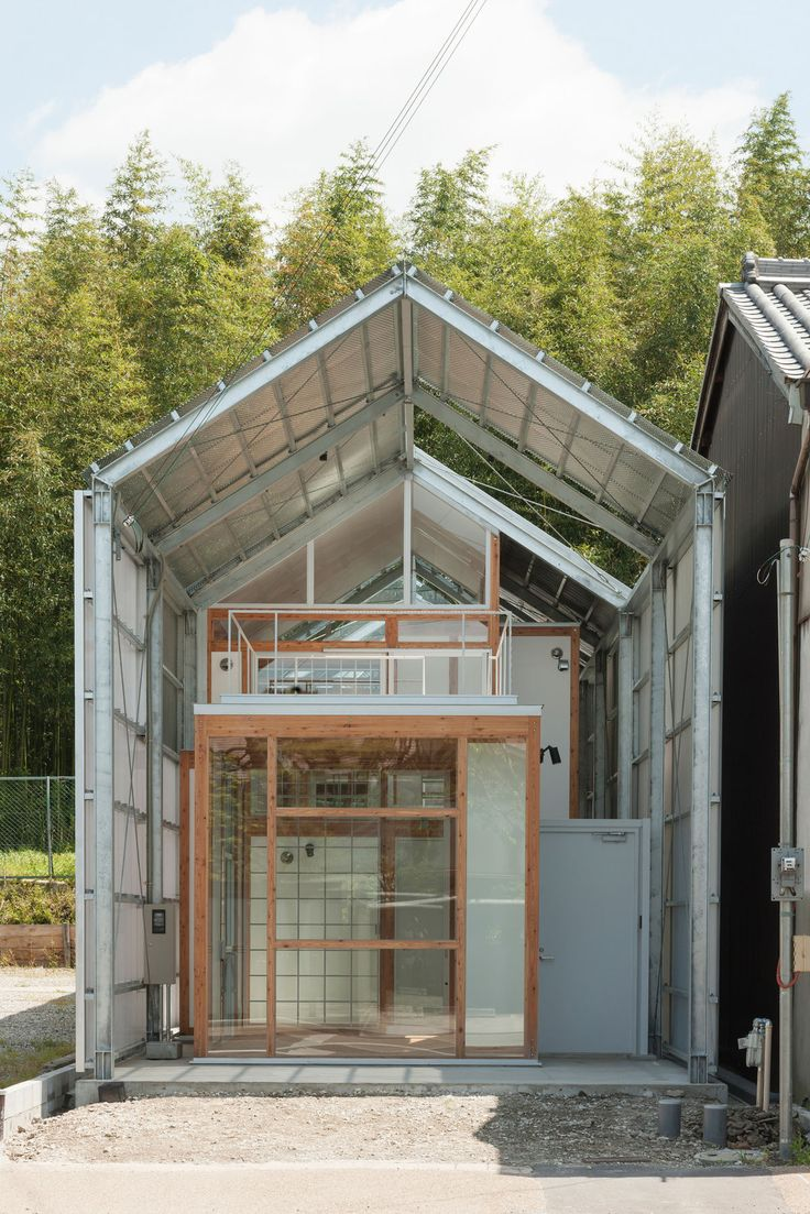 Headcorn minimalist house - The House Of 33 Years Is A Residence Located Next To The World Heritage Todaiji Temple