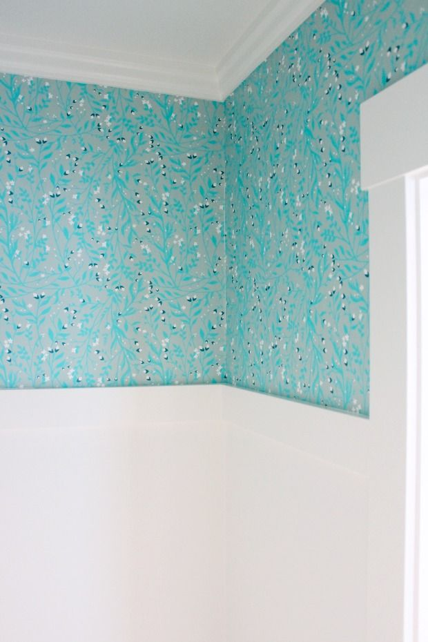 1000 images about wall treatment ideas on pinterest - Turquoise wallpaper for walls ...