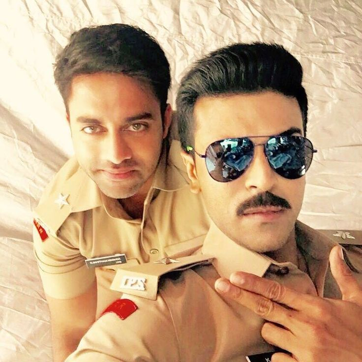 ram charan with navdeep from dhruva movie