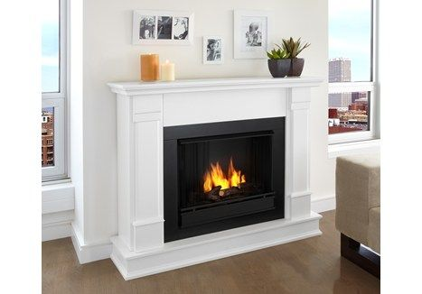 Want a real flame #fireplace without adding a chimney? An indoor gel-fuel fireplace might be just want you need! Real fire. No venting required.