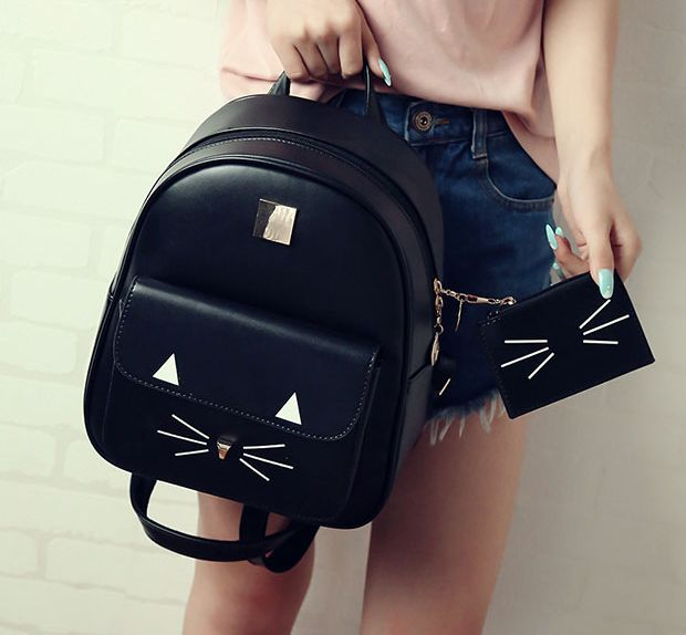 www.sanrense.com - Cute cartoon cat backpack SE8690