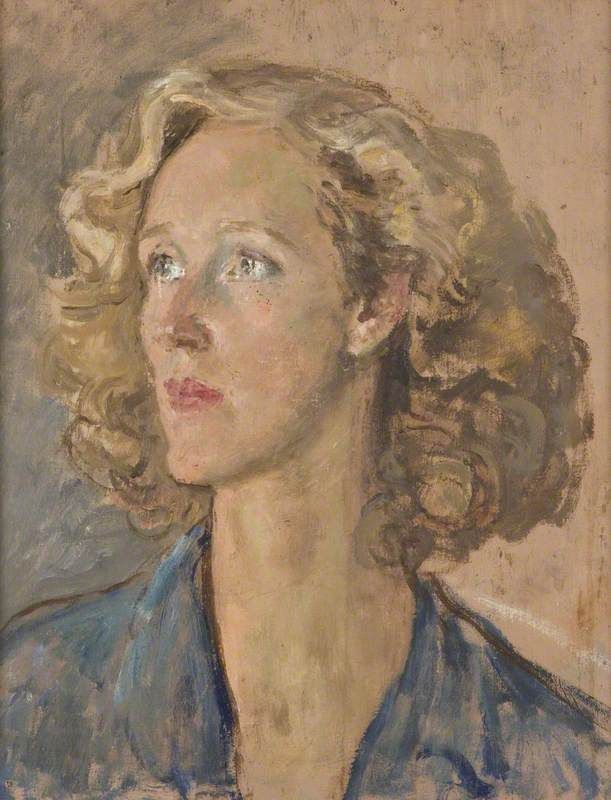 Augustus Edwin John - Portrait of a Woman (1925)