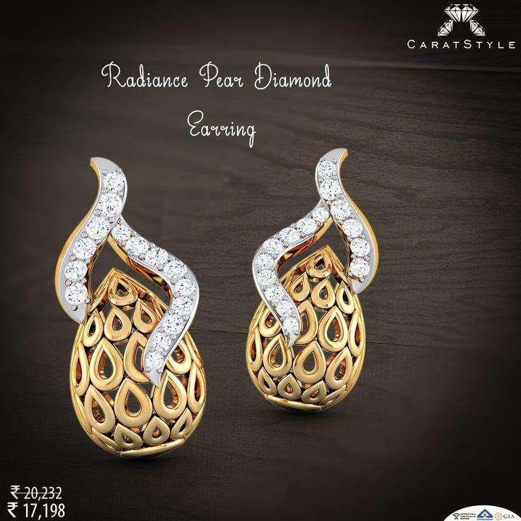 Love must be as much a light, as it is a flame. #diamond #pearl #earring #diamondearring #pearlearring #goldearring #earringforwomen