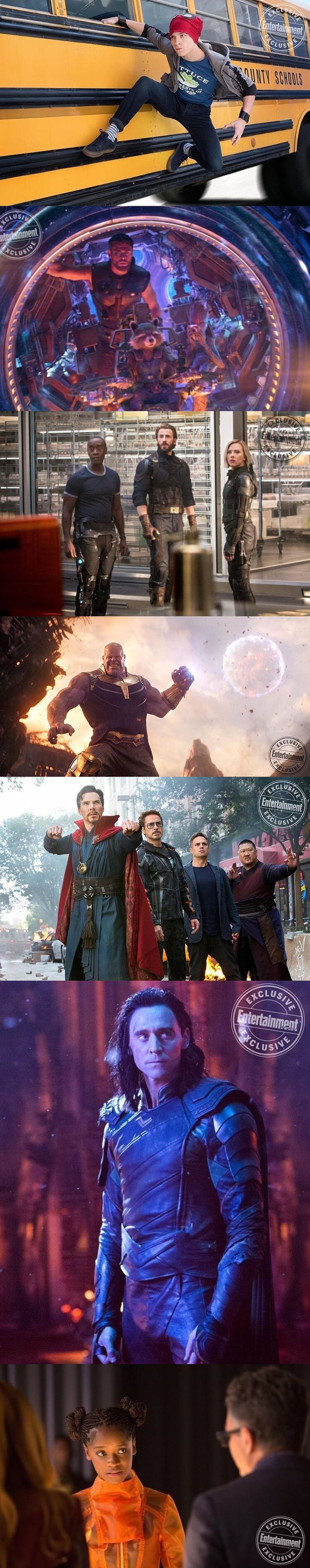 New stills from Avengers: Infinity War