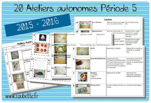 """Télécharger « 2015-2016 Ateliers Autonomes Période 5 (20 ateliers).pdf »  Vous trouverez les modèles de l'atelier n°12 Clip-it ici. J'ai scanné le jeu """"Chercher"""" des éditions du Coquelicot pou"""
