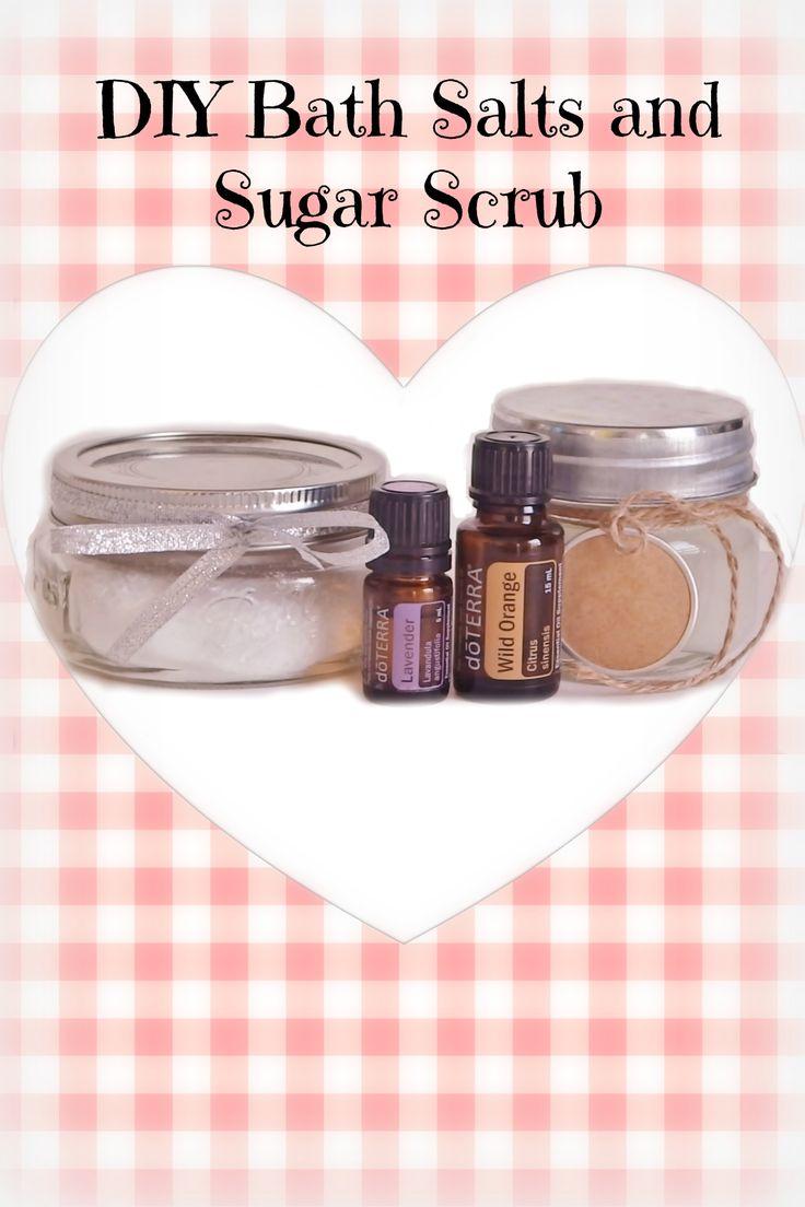 how to make your own bath salt scrub
