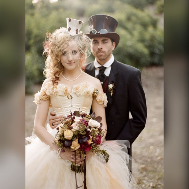 The 25 best steampunk wedding images on Pinterest | Victorian ...