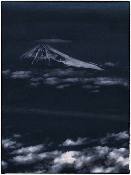 Mount Fuji at night 2014