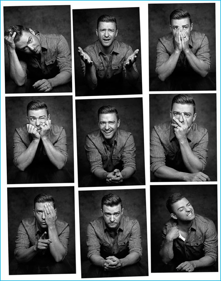 Justin Timberlake poses for a series of charming images for the August 2016…