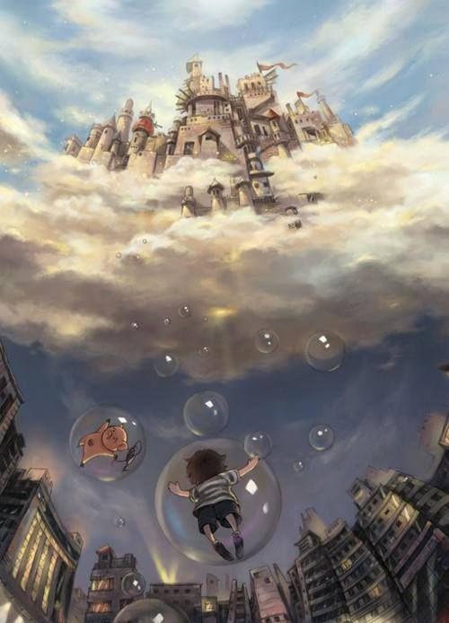 Bubbles by surrealism