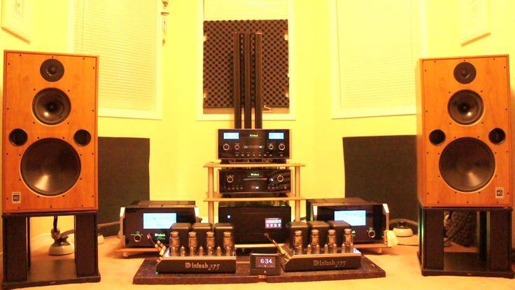 Harbeth M40.1 with McIntosh MC 601 + C2300 + MC 275 + MCD 500