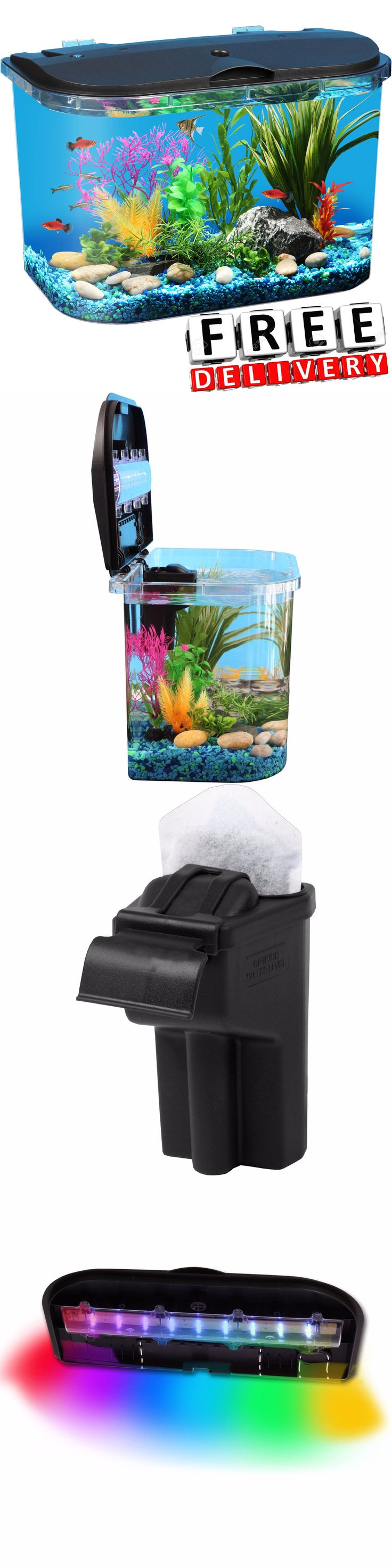 Fish tank volume calculator cm - Aquariums And Tanks 20755 Aquarium 5 Gallon Led Lighting Power Filter Decoration Tropical Fish Water