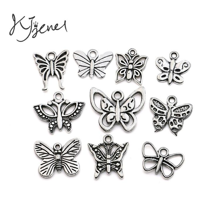 Mixed Tibetan Silver Plated Butterfly Dragonfly Charm Pendant for Bracelet Necklace Jewelry Accessories Making Handmade DIY-in Charms from Jewelry & Accessories on Aliexpress.com | Alibaba Group