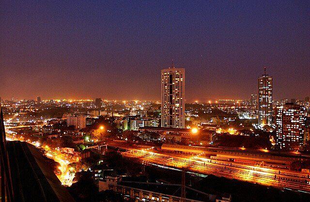 Night View Mumbai India, United Nations #7 Urban Agglomeration on the Planet