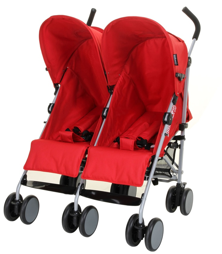 Kiddicare Twin Pushchair - Double Buggy