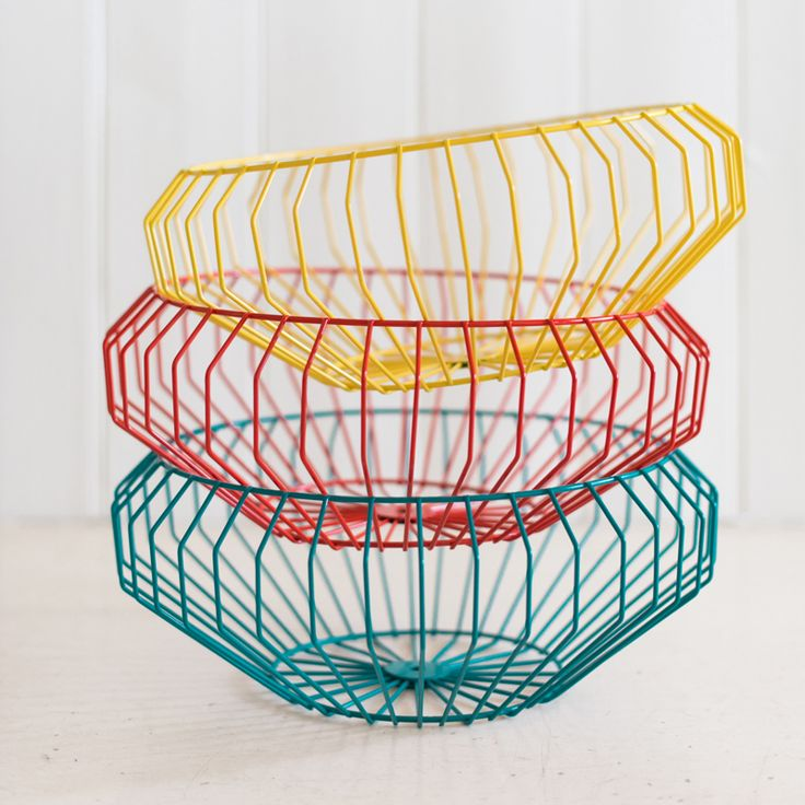 Safari Fusion - Cape Wire Bowl #designeveryday