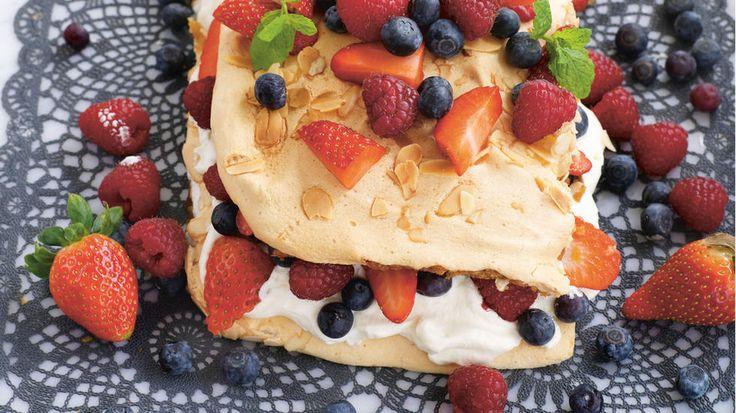 Glutenfri verdens beste med friske bær