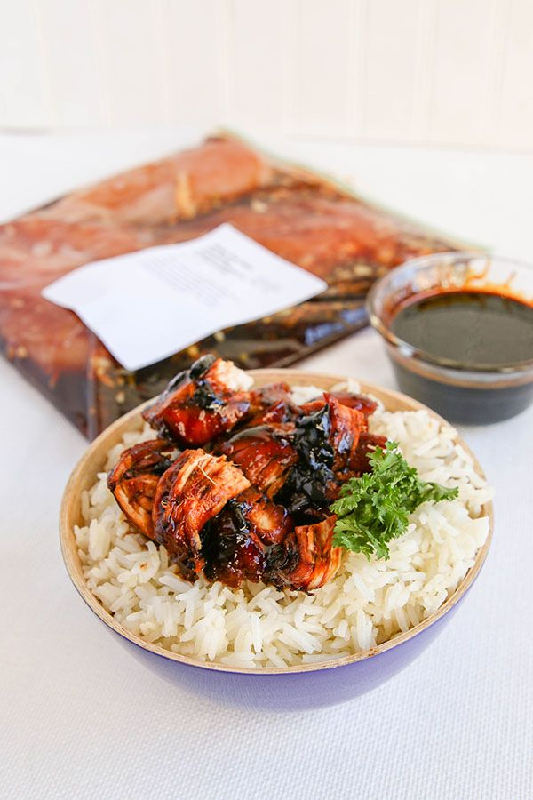 Try this gluten free dairy free Instant Pot version of our simple Honey Bourbon Chicken for a quick and easy family dinner.