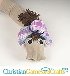 Children will love this camel sock puppet Bible craft as part of The Amazing Time Machine VBS. Harry the Camel plays a big part in the VBS Bible lessons for pre-school and younger elementary children. This VBS is FREE with a 1-year $60.00 subscription to www.ChristianGamesandCrafts.com