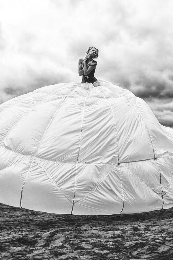 Parachute by Ben Müller, via Behance