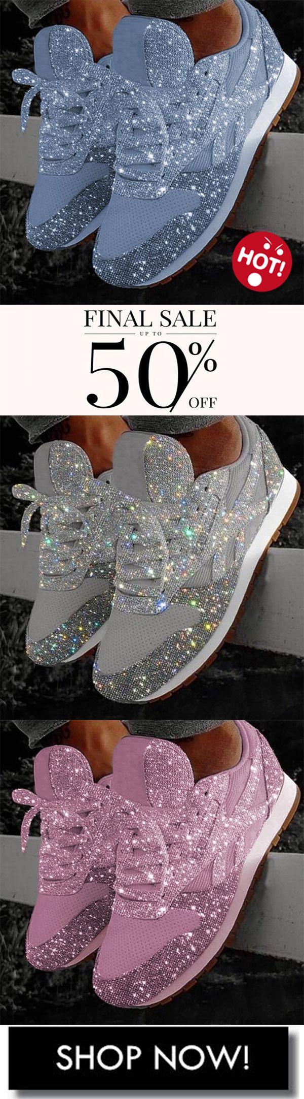 #sparkle #sneakers Women's Sparkle White Sneakers Shoes-3   – Klamotten kaufen