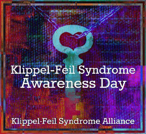6 August is Klippel-Feil Syndrome Awareness Day (worldwide). Learn more, and share the awareness! Facebook: @KlippelFeilSyndromeAlliance. Twitter: @KFSalliance.