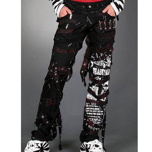 Black Alternative Emo Gothic Punk Rock Scene Clothing Pants Shop