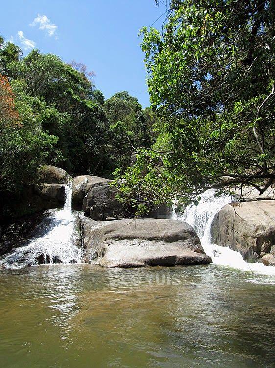 Cachoeira das Andorinhas em Gonçalves, Minas Gerais, Brasil.