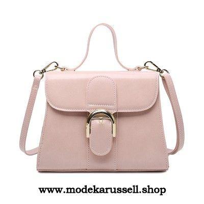 Damen Handtasche Schulter Tasche in Pink