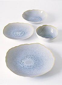 Plume Bleu likken - Jars Céramistes : GORGEOUS! I love the forms and colors.