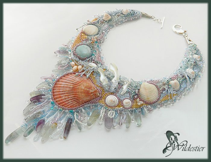 Wow, Absolutely beautiful use of seashells here.