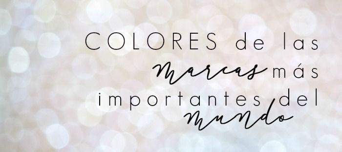 Código de colores HTML de redes sociales para personalizar tus diseños en el blog blogger.