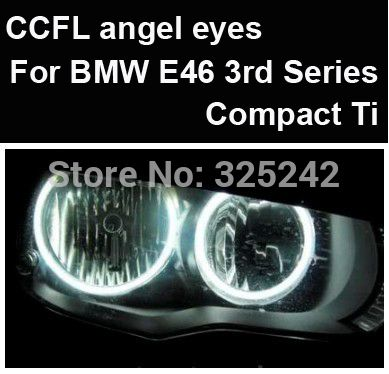 Find More Angel Eyes Information about Excellent Ultrabright headlight illumination CCFL Angel Eyes kit For BMW E46 3rd Series Compact Ti,angel eyes kit, free shipping,High Quality Angel Eyes from Hongkong exl Industrial Co., Ltd.(guangzhou) on Aliexpress.com