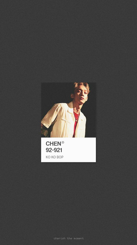 CHEN WALLPAPER . #KoKoBop #TheWarEXO © Cherish the moment