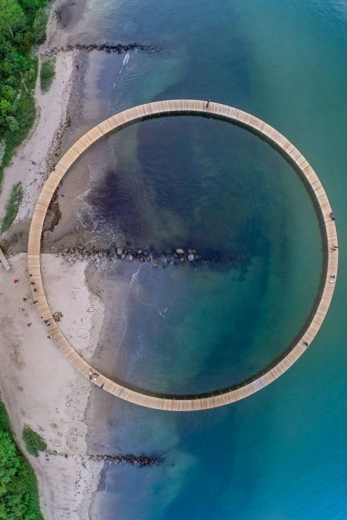 The Infinite Bridge | Gjøde & Povlsgaard Arkitekter Location: Aarhus, Denmark | 2015