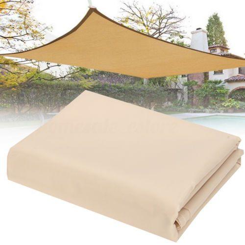 Details about Patio Sun Shade Sail Shelter Outdoor Garden