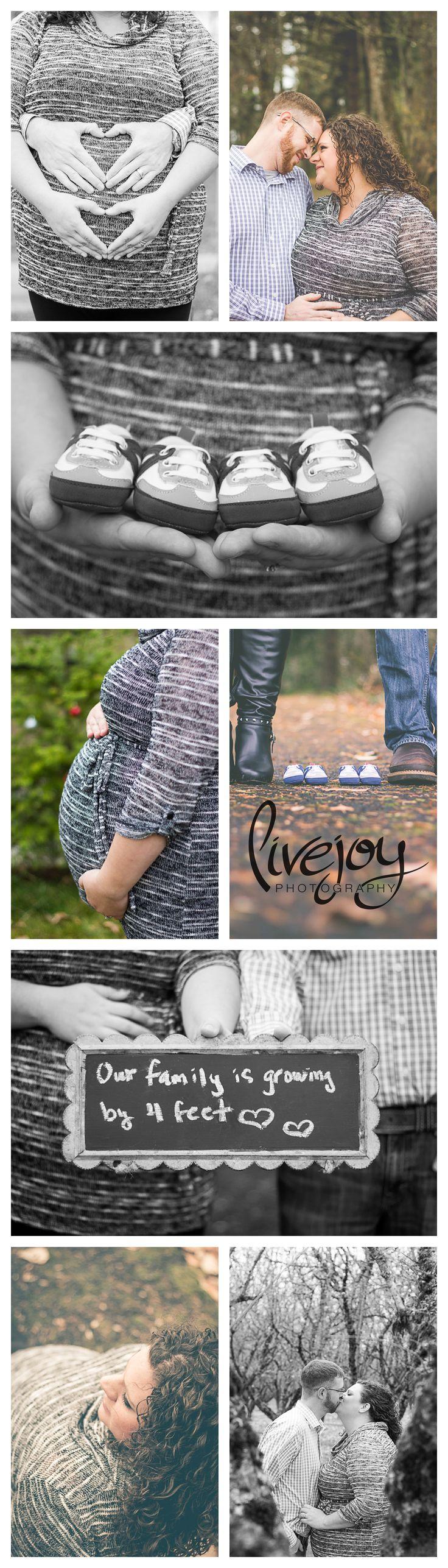 Maternity Photography Twins #LiveJoyPhotography #Maternity #Photography