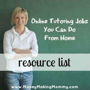 Online Tutoring Jobs! Find teaching and tutoring jobs that you can do from home. #workathome