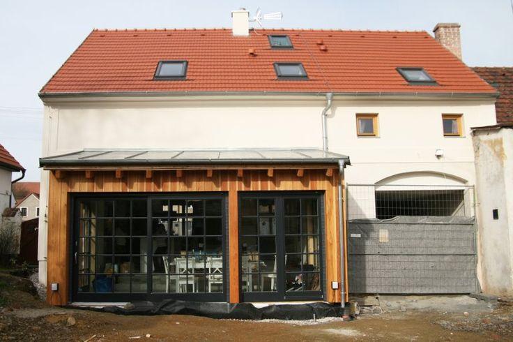 Rekonstrukce domu na venkově - přístavba jídelny