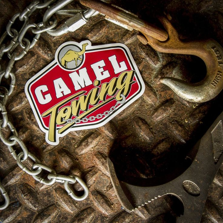 Camel Towing Sticker