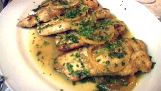 Chicken Francese Recipe : Tyler Florence : Food Network