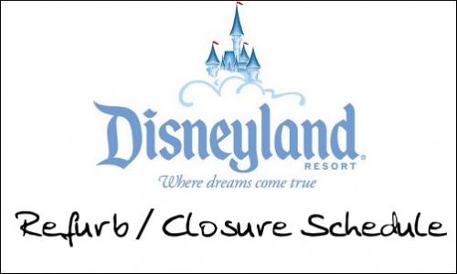Disneyland Refurbishment update for May 2013